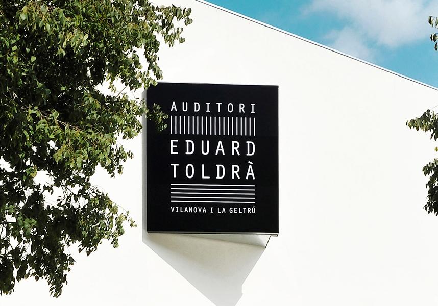 Identidad corporativa del Auditori Eduard Toldrà